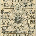 Hermann M. (1894-1943), Müller/miller: «Temperatur – wenig - verändert», Bleistift auf Papier / (Temperature – Changed - Little) 29,7 x 21 cm, undatiert/undated, Sammlung Rheinau Inv. Nr. R 1323.63 verso, Staatsarchiv des Kantons Zürich