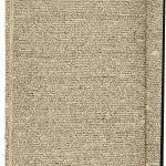 Constance Marie Jasmin Marguerite Schwartzlin-Berberat (1845–1911), Hausfrau/housewife: «Cahier de cuisine de la Valdau. Termin[é] le 23 janvier», Heft III, 36 Seiten, Tinte auf festem Papier,mit Faden zusammengenäht / (Waldau Hospital Cookbook), Vol. 3, 36 pages, ink on solid paper, sewn together with thread, 37 x 23 cm, undatiert/undated, (zwischen/between 1885 und/and 1904), Sammlung Morgenthaler, Inv. Nr. 1020, Stiftung Psychiatrie-Museum Bern, Inv. Nr. 1827-III.1
