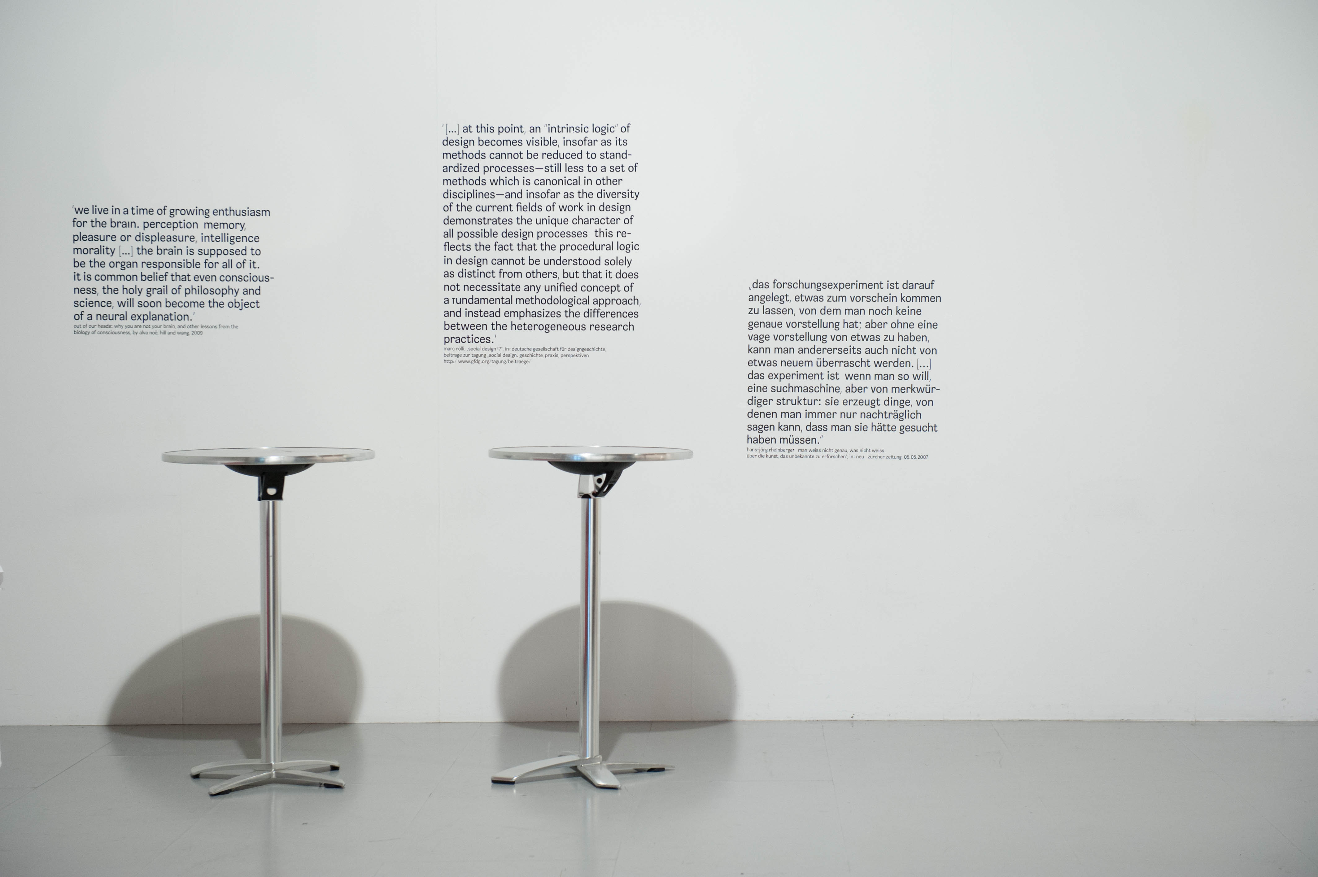 Eigenlogik des designs / the intrinsic logic of design
