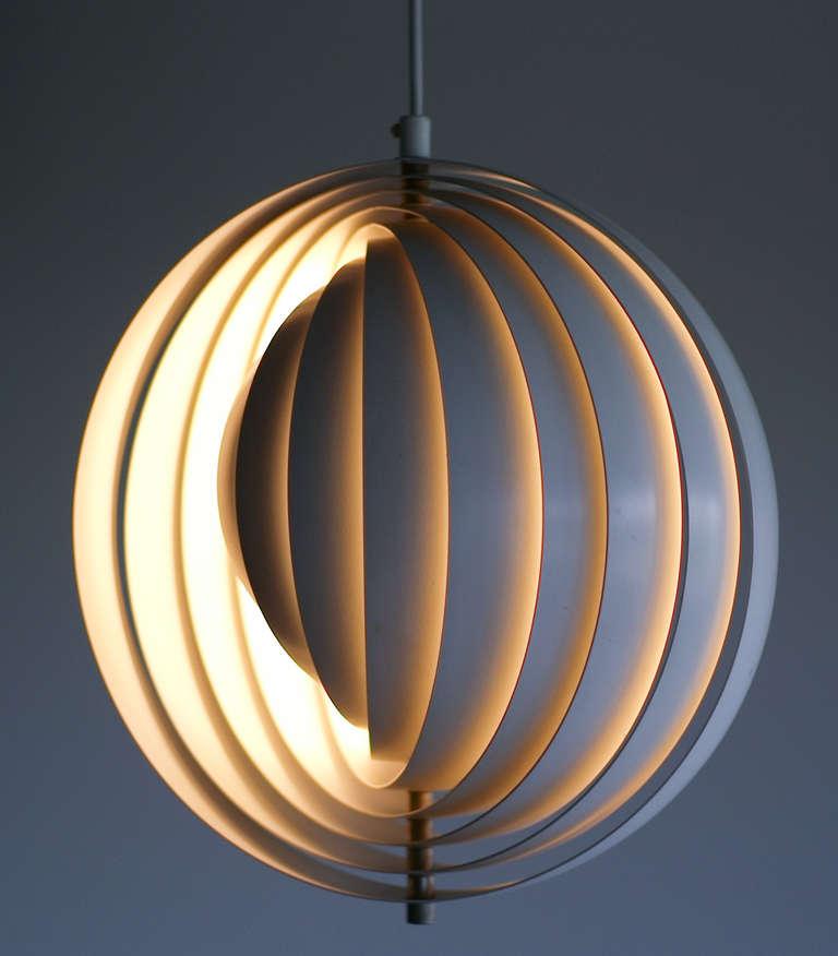 1960 Verner Panton Moon Lamp 1 Farbe, Verner Panton Lamp Moon