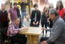 Students meet the Fujianese Grandmasters