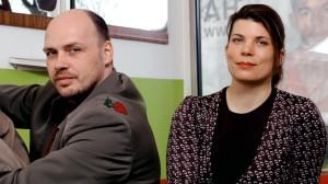 Daniel Wetzel und Helgard Haug (Bild: Hanna Lippmann)