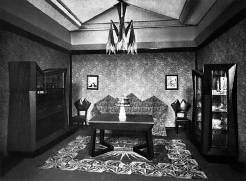 Österreichischer Pavillon, Werkbund-Ausstellung Köln, 1914 (Quelle: Archiv Architektury, Národního Technického Muzea v Praze)