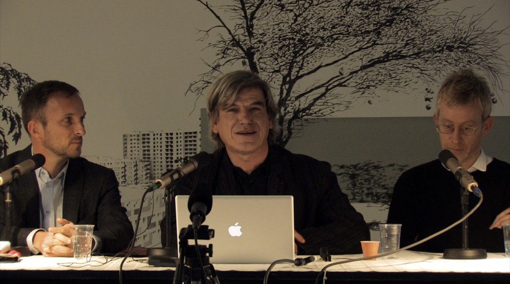 Frédéric Dedelley, Max Borka and Martin Boyce