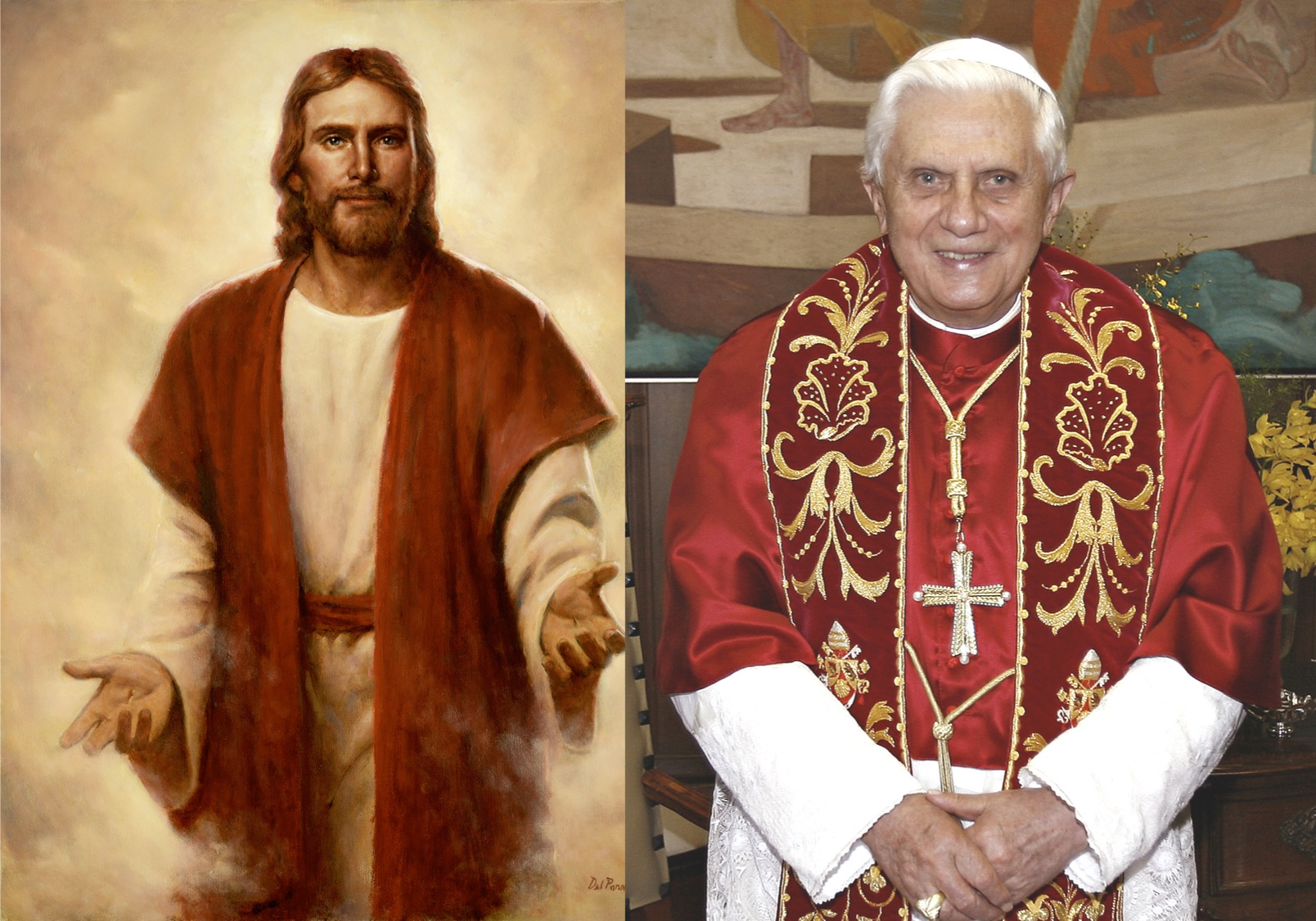 papst jesus