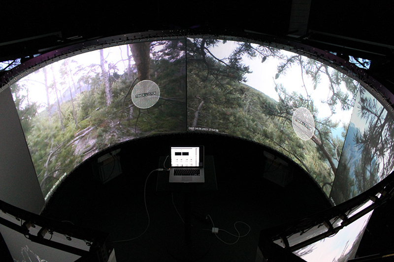 ICST's Immersive Lab from top